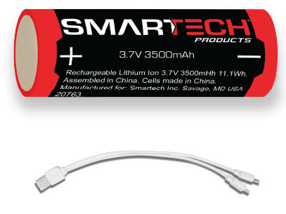 Rechargeable battery and cable